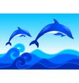 Blue Ocean vector image