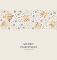 Christmas retro greeting card and background vector image