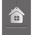 home icon design element vector image vector image