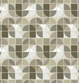 neutral geometric background ornament abstract vector image vector image