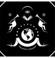universal heraldry vector image vector image