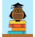 education and development of character vector image