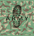 camouflage army vector image vector image