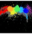 Ink background vector image vector image