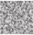 polygonal triangular shining background vector image vector image
