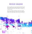 violet pink purple magenta blue watercolor vector image vector image