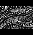 zentangle inspared pattern hand drawn vector image vector image