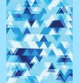 zig zag geometric abstract seamless pattern vector image vector image