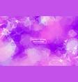 abstract dark purple geometric polygonal vector image vector image