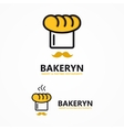 bakery icon or logo vector image vector image
