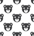 bear toy seamless pattern vector image vector image
