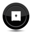 Button with safe vector image vector image