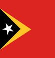 flag of east timor vector image
