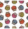harlequin owls vector image vector image