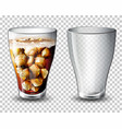 set of carbonated drink vector image