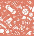 sport and fitness background 03 vector image vector image