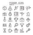 Start up icons set vector image vector image