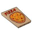 classic pizza great design icon vector image
