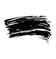 ink brush stroke grunge hand painted vector image