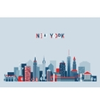 New York City Architecture vector image