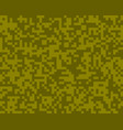 orange random squares mosaics or tiles banner vector image vector image