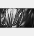 transparent polyethylene plastic warp vector image vector image