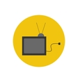 TV set icon vector image vector image