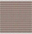 Wicker Seamless Pattern vector image