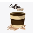 Coffee mug cup shop beverage icon vector image vector image