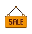 sale sign advertising promotion isolated vector image