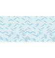 wavy lines regular repeat endless background vector image