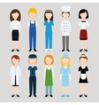 women profession vector image vector image