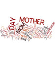 give your mama the gifts of love text background vector image vector image