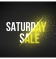 Saturday Sale Energy Explosion vector image vector image