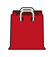 shopping bag icon image vector image vector image