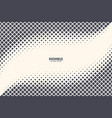 square particles halftone abstract geometric vector image vector image