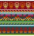 andean knitting borders vector image vector image