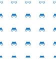 binoculars icon pattern seamless white background vector image vector image