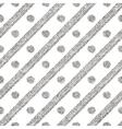 Geometric seamless silver pattern of diagonal vector image