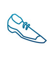 male shoe footwear vector image vector image