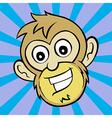 One Happy Monkey vector image vector image