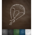 paratrooper icon vector image