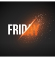 Friday Sale Energy Explosion vector image vector image