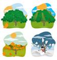 nature season design vector image