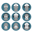 personal protective equipment builder vector image