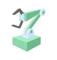 Robotic arm icon cartoon style vector image vector image