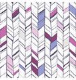 Sketchy herringbone seamless pattern vector image