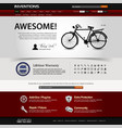 web design website element template a web design vector image vector image
