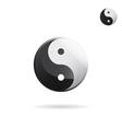 Ying and Yang sign vector image