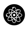 atom icon design vector image vector image